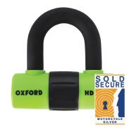 Oxford HD Max Disc Lock Green LK313